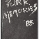 PUNK MEMORIES &#39;85 mini-comic CARY LEE BAKER 1985 Fan-Atic Press