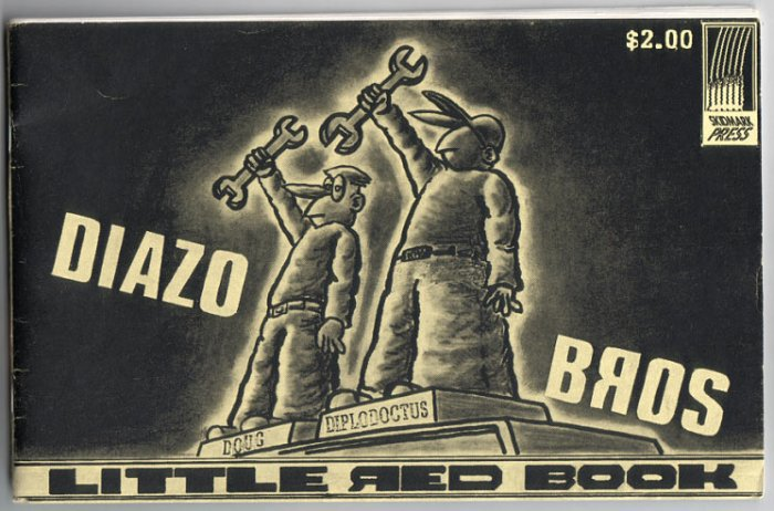 DIAZO BROS mini-comic TONY FITZGERALD 1992 Skidmark