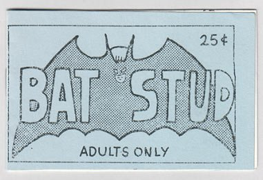 BAT STUD Batman TIJUANA BIBLE Randy Z. Crawford