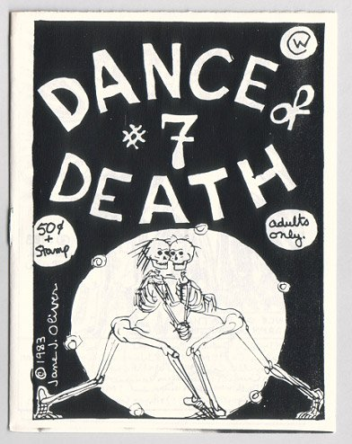 DANCE OF DEATH #7 mini-comic JANE J. OLIVER Jim Ryan 1983