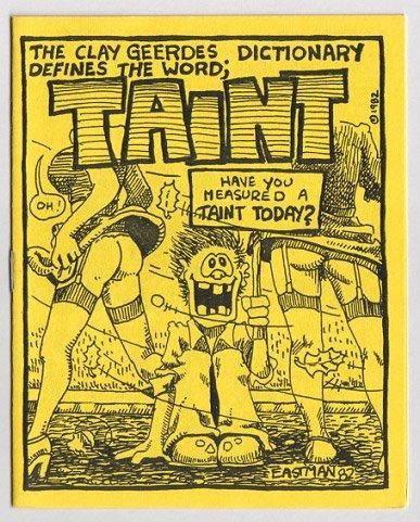 TAINT mini-comic KEVIN EASTMAN 1982 TMNT comix