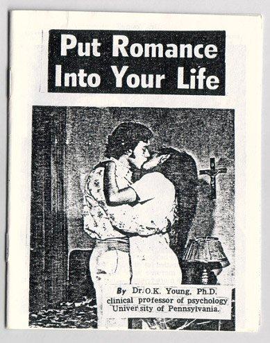 PUT ROMANCE INTO YOUR LIFE mini-comic fumetti