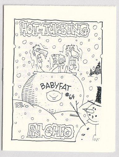 BABYFAT #64 mini-comic BRAD FOSTER Bob Vojtko 1988 comix