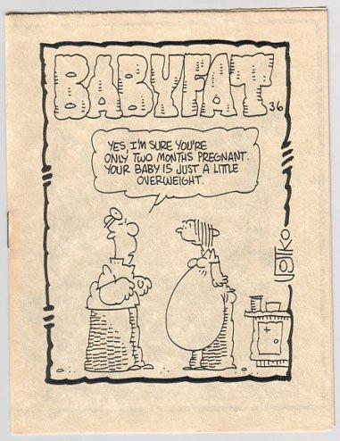 BABYFAT #36 mini-comic JOE ZABEL Jim Ryan BOB VOJTKO 1983