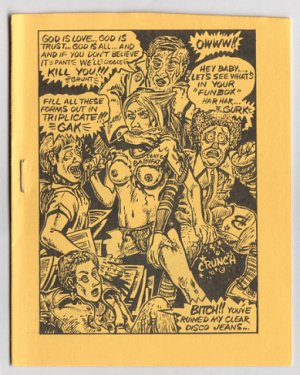 BABYFAT #8 mini-comic ERIC VINCENT Jim Siergey WALT RODGERS 1979