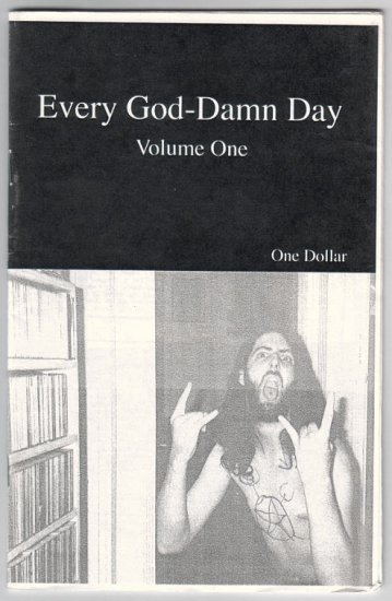 EVERY GOD-DAMN DAY Vol. 1 mini-comic MATT DELIGHT diary comics 2003