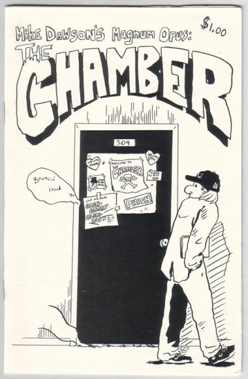 THE CHAMBER mini-comic MIKE DAWSON 1998 comix