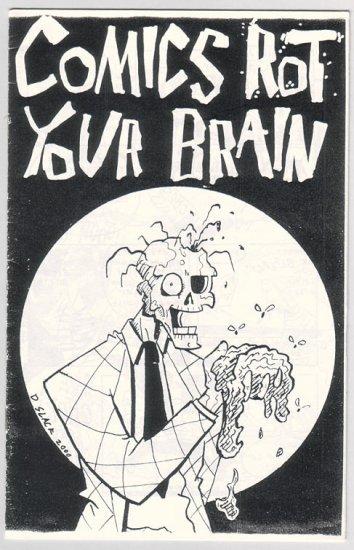 COMICS ROT YOUR BRAIN mini-comic DOUG SLACK 2000