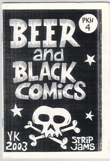 BEER AND BLACK COMICS Indonesian mini-comic JAM COMICS 2003