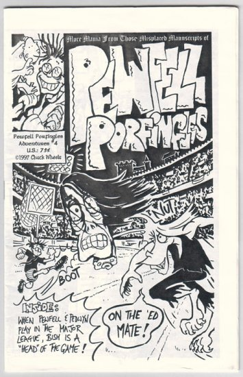 PEWFELL PORFINGLES #4 mini-comic CHUCK WHELON 1997
