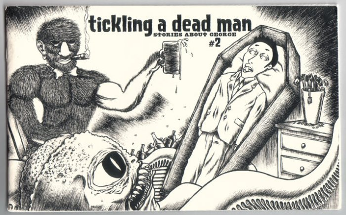 TICKLING A DEAD MAN #2 mini-comic ROBERT ELROD 2005 comix