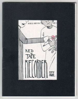 RED TAPE RECORDER #7 mini-comic T. DUKES 2001 comix