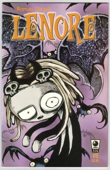 LENORE #9 Roman Dirge 2002 goth comics SLG