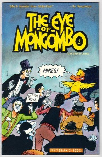 THE EYE OF MONGOMBO #2 Doug Gray 1989 Fantagraphics