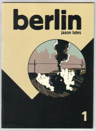 BERLIN #1 Jason Lutes 1996 Black Eye