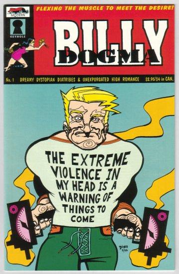 BILLY DOGMA #1 Dean Haspiel 1997 Modern