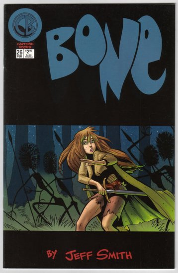 BONE #26 Jeff Smith 1998 Cartoon Books