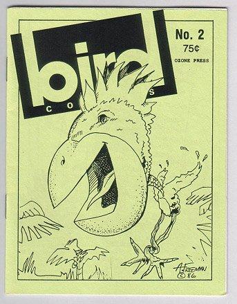BIRD COMICS #2 mini-comic Brad Foster, Daryl Hutchinson, D. Tosh 1986 comix