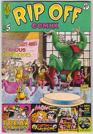 RIP OFF COMIX #5 R. Diggs, Gilbert Shelton, Joel Beck 1979 UG comix