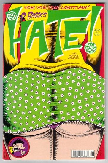 HATE #30 Peter Bagge, Rick Altergott, Alan Moore, Dame Darcy 1998