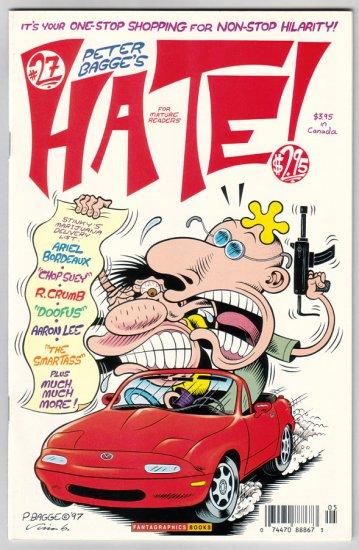 HATE #27 Peter Bagge, R. Crumb, Rick Altergott 1997 comix