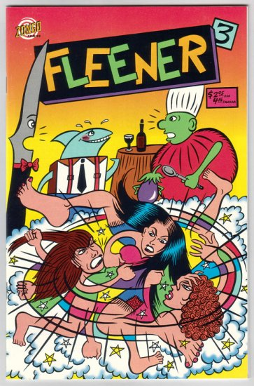 FLEENER #3 Mary Fleener 1997 Zongo Comics