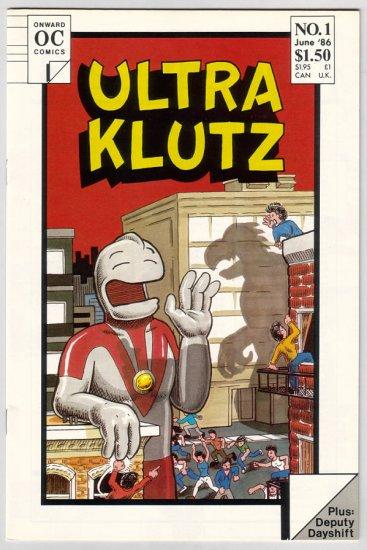 ULTRA KLUTZ #1 Jeff Nicholson, Brad Foster 1986