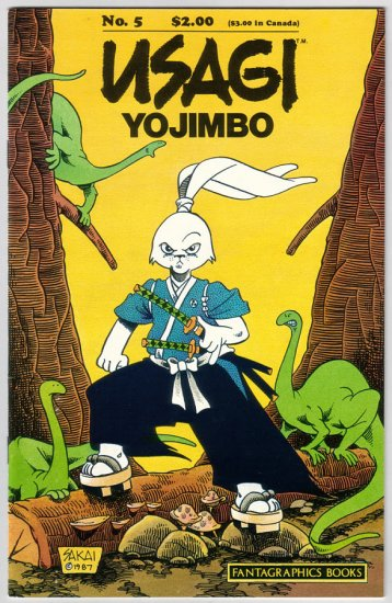 USAGI YOJIMBO #5 Stan Sakai, Gary Kato 1988 Fantagraphics
