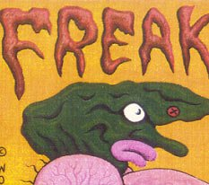 FREAK F*CKS mini-comic DENNIS WORDEN 1991 Starhead Comix
