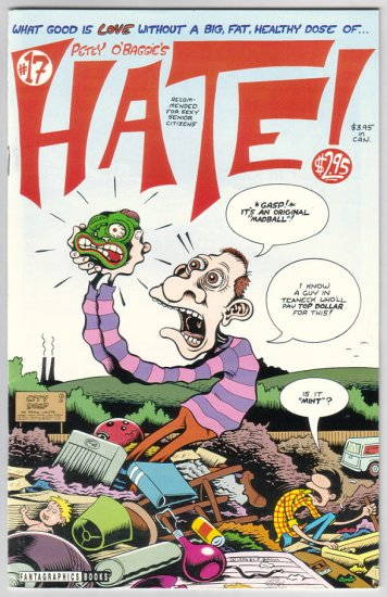 HATE #17 Peter Bagge, Jim Blanchard 1995 Fantagraphics