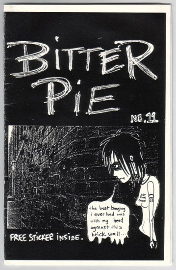 BITTER PIE lot of 2 mini-comics TENA 2001-02 comix