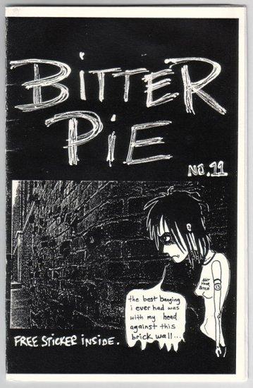 BITTER PIE lot of 2 mini-comics TENA 2001-02 comix