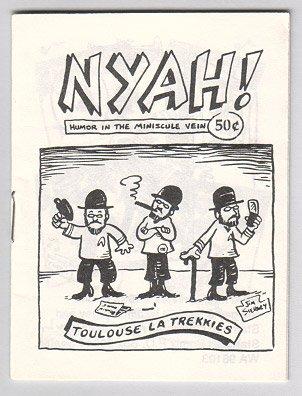 NYAH mini-comic JIM SIERGEY 1989 puns Star Trek