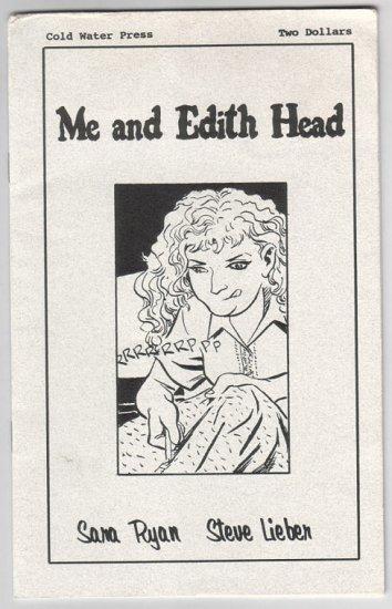 ME AND EDITH HEAD mini-comic STEVE LIEBER Sara Ryan 2002