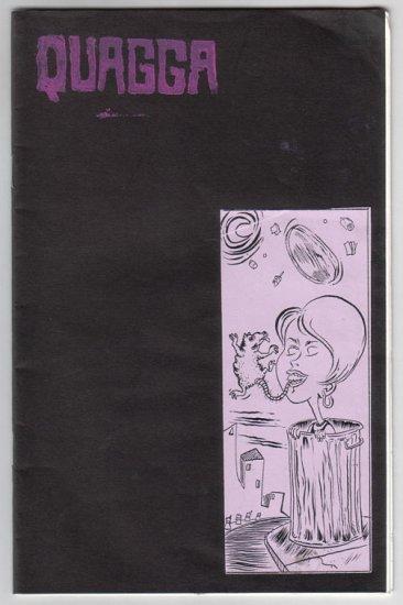QUAGGA #5 mini-comic TREVOR ALIXOPULOS 2004