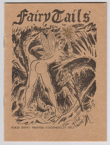 FAIRY TAILS pin-up mini-comic CLINT TAURUS early '80s