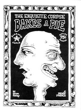 THE EXQUISITE CORPSE BAKES A PIE mini-comic RENEE FRENCH Ellen Forney 1994