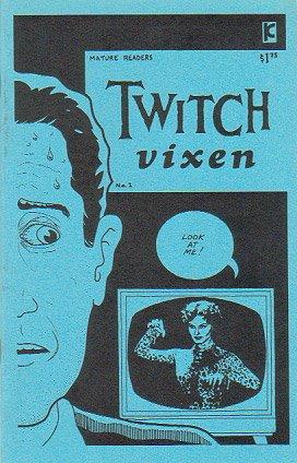 TWITCH VIXEN #1 mini-comic D. TOSH Mark Stokes 1991