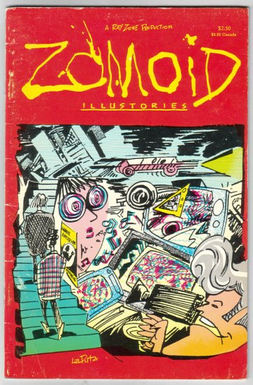 ZOMOID ILLUSTORIES collection PANTER Worden BAGGE Wayno 1989
