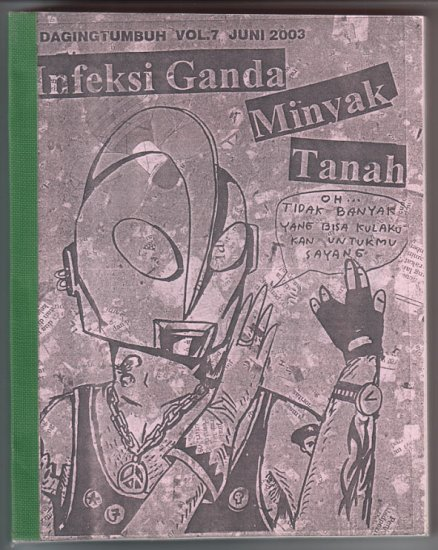 DAGING TUMBUH Vol. 7 Indonesian comics anthology