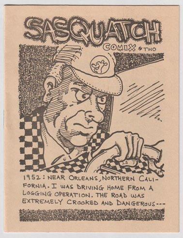 SASQUATCH COMIX #2 mini-comic STEVE WILLIS 1983 bigfoot