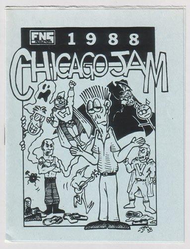 FNS 1988 CHICAGO JAM Edward Bolman SAM HENDERSON Matt Feazell 1988