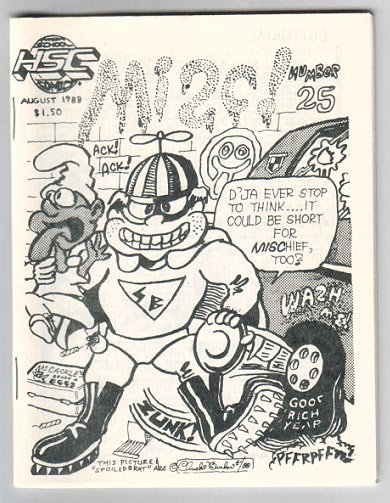 MISC #25 mini-comic FEAZELL Foster UPTON 1988 HSC