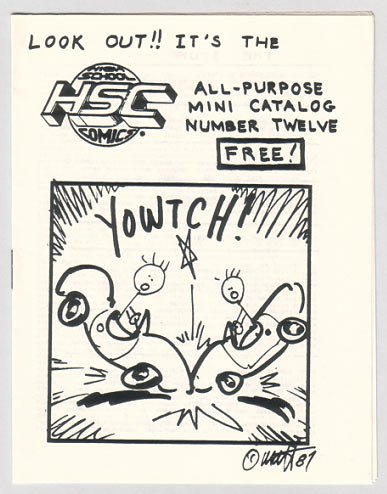 HSC CATALOG #12 mini-comics 1987 High School Comics
