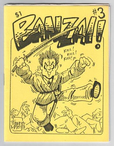 BANZAI #3 mini-comic MATT FEAZELL Brad Foster 1987