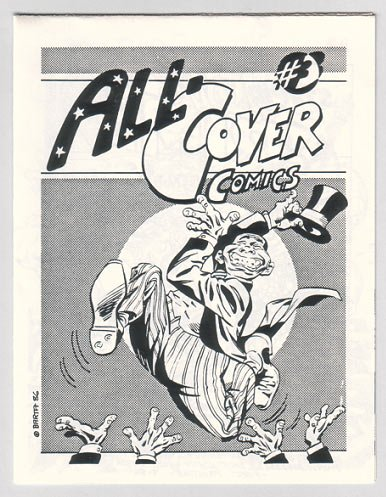 ALL-COVER COMICS #3 mini-comic BARTA Siergey ZABEL O'Connell 1986