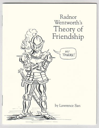 RADNOR WENTWORTH mini-comic LAWRENCE SAN 1990 signed