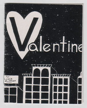 VALENTINE mini-comic LEELA CORMAN 1997