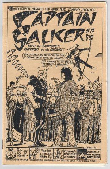 CAPTAIN SAUCER #13 mini-comic DOUG HOLVERSON