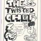 TWISTED CHEF lot of 2 mini-comics J.P. CRANGLE 1990